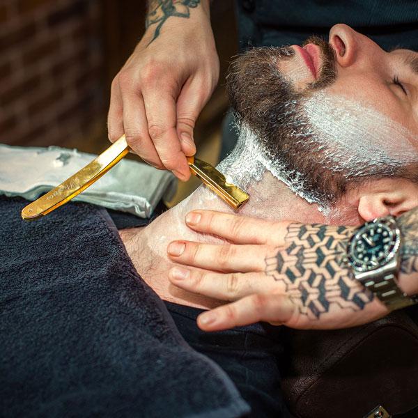 4. Бритьё опасной бритвой