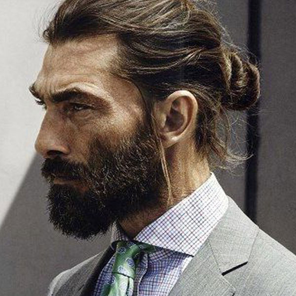 Узел / Top Knot / Man Bun