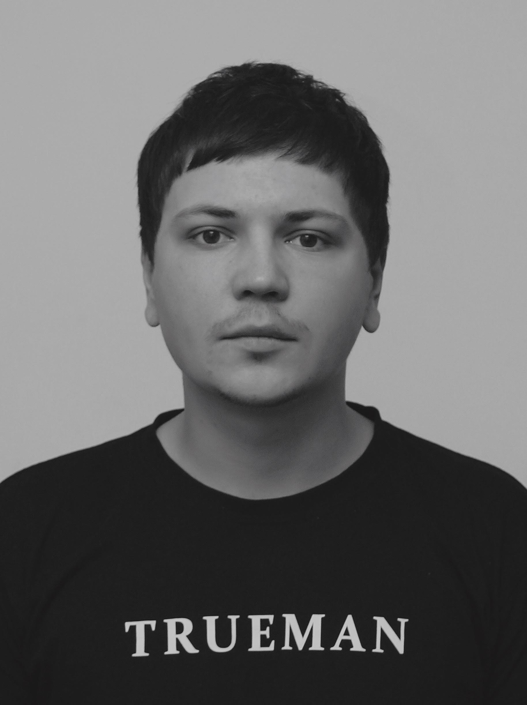 Сергей С. барбер барбершопа TRUEMAN